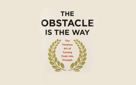The thing that stands in your way is the very means to your success