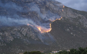 Police to investigate whether flare caused Betty's Bay and Pringle Bay fires