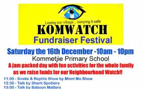 KomWatch Fundraising Festival