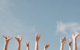 """""""Are you human?"""" Raise your hand when a question applies"""