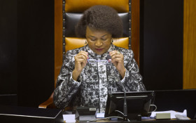 Xolani Gwala's lighter take on that Mbete cough