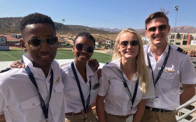 From Cape to Cairo: Teenage pilots fly in self-made plane