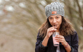 Maties student wants to bring her edible straws to a restaurant near you