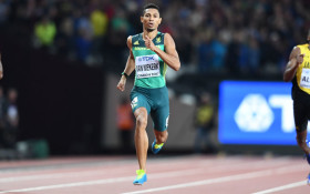 Injured Van Niekerk misses out on SA Commonwealth Games slot