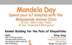 Corporate Kennel Building for Mandela Day