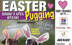 Pug Rescue Easter Puggin