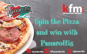 PANAROTTIS  SPIN THE PIZZA