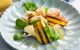 Grilled Nectarine and Pecorino salad