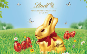 LINDT Gold Bunny Gardens