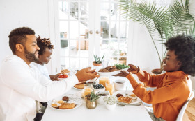Using family dinners to teach your children about politics