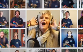 'World in Union' PJ Powers, Tygerberg Children's Choir tribute COVID-19 heroes