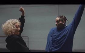 DaniLeigh teaches Chris Breezy how to dance