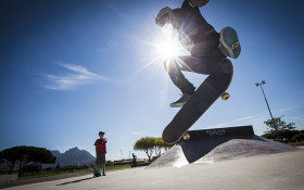 SA skateboader turns Paarden Eiland bridge into his personal skate jump