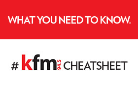 #KfmCheatSheet - Wednesday 23 August 2017