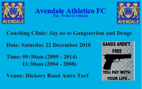 """Coaching Clinic """"Say No to Gangsterism and Drugs"""