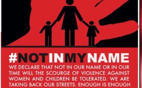Civil Society Marches to Regina Mundi: #NotInMyName