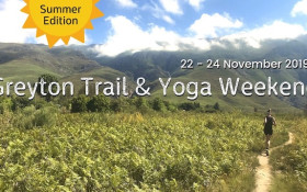 Greyton Trail & Yoga Weekend – Summer Edition