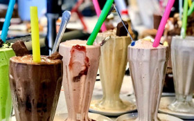 Milking it: CT restaurant takes record for milkshake selection