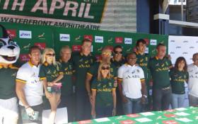 Springbok Jersey Launch