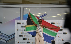 Home sweet home: Priceless moment as SA welcomes Zozibini Tunzi from the US