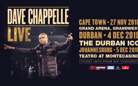 Dave Chapelle is coming to perform in SA for the first time!