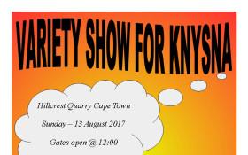 Variety show for Knysna