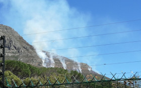 Suspected arsonist nabbed for Table Mountain fire