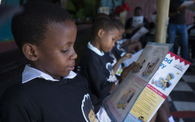 Nal'ibali reads aloud to more than half a million children
