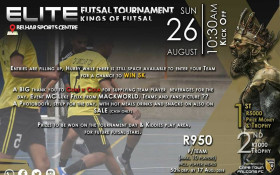 Elite Futsal Tournament-hosted by the Cape Town Falcons Futsal Club