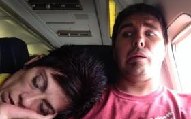 Awkward aeroplane moments