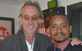 Mike Rutherford chats to Tim Thabethe