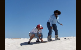 Sandboarding in Atlantis