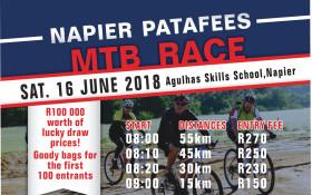 Napier Wine & Patatfees MTB Race