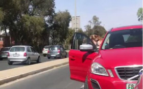 [WATCH] Man and woman assaulting a motorist goes viral, for the wrong reasons