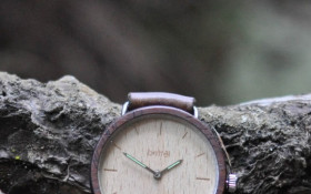 Unique wooden hand crafted watches contributing to SA economy