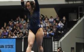 [WATCH] Gymnast's routine has internet buzzing
