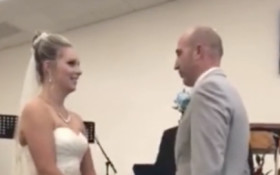 [WATCH] Mother-in-law interjects during wedding vows, says her son has no flaws