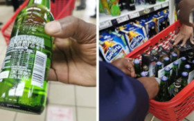 [PICS] Gauteng cops confiscate 0.03% alcohol beer from Spar