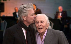 'Kirk Douglas left us today. I love you so much. I am so proud to be your son'