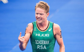 Henri Schoeman bags Team SA their first gold medal at the Commonwealth Games.