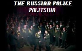 Russian Police choir singing Daft Punk's Get Lucky