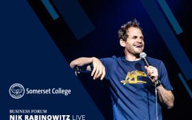 Nik Rabinowitz Live at Somerset College