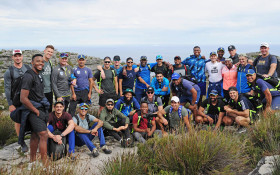 [WATCH] SA cricket team climbs Table Mountain to prepare for World Cup