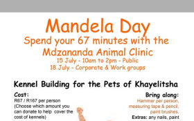 Kennel Building for the Pets of Khayelitsha
