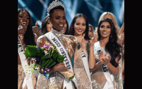 She said she would do it and so, she did: Zozibini Tunzi crowned Miss Universe