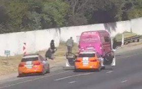 [VIDEO] Sanral cameras help nab armed hijackers on Joburg highway