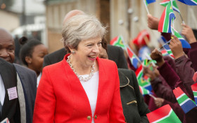 [WATCH] Theresa May's got moves: Reactions to Africa visit