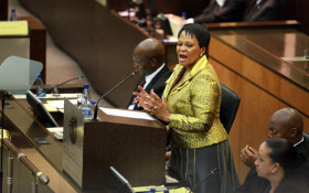 Mokonyane defends her water department over irregular expenditure