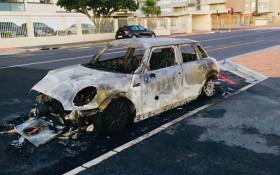 Vehicle of Sea Point man who feeds homeless petrol-bombed