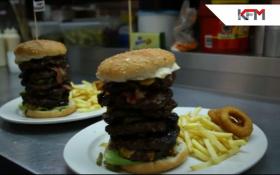 Deon's Big Burger Challenge
